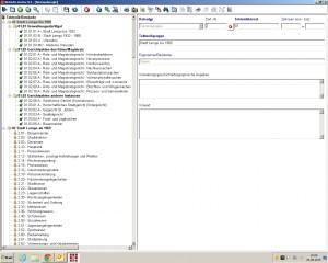 Seite aus einer Archivdatenbank