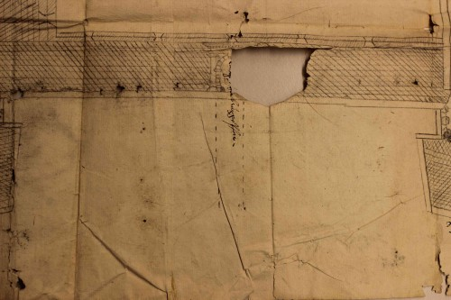Kartenausschnitt Stadtbefestigung Detail (StaL K 2411)