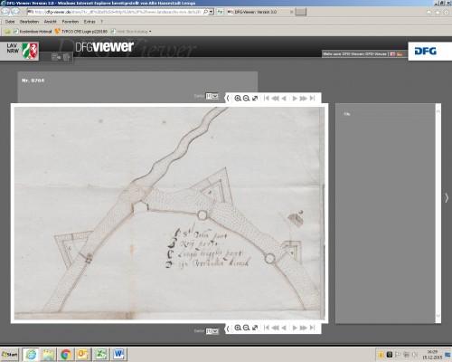 Digitalisat auf archive.nrw (LAV NRW Abt. Westfalen Karten A Nr. 8764)