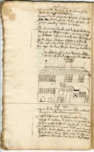 Abschrift des Schmähbriefs gegen David Welman, 1642 (Sta L A 4694)