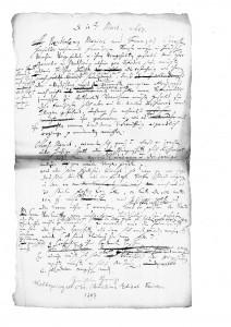 Vernehmung / Anhörung zweier Franzosen in Lemgo, 1687 (StaL A 2739)