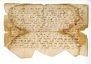 Urkunde Gert van Loon für Altarbild (StaL U 846)